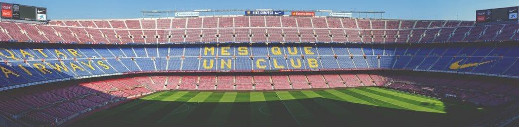 Stade du Camp Nou à Barcelone