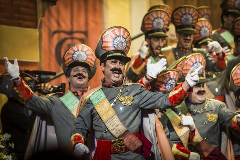 Déguisement au Carnaval de Cadix