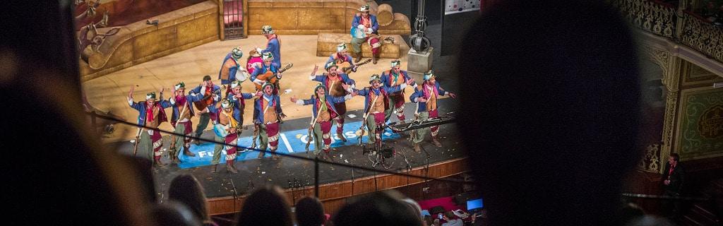 carnaval de Cadix Spain
